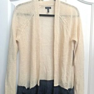 Splendid Coastal Linen Blend Cardigan Size M NWT